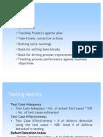 Software Testing Metrics Presentation)
