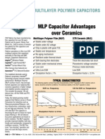 Multi Layer Polymer Capacitors