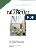 Constant In Brancusi