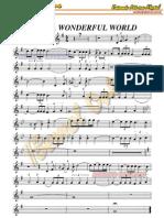 What a Wonderful World-sax Tenor