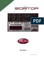RP Predator Manual