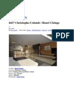 Casa Henri Cleinge