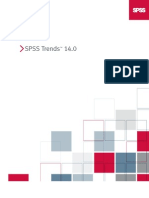 SPSS Trends 14.0