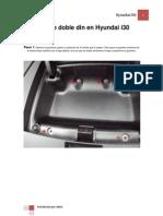 Montaje Doble Din en Hyundai i30