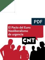 El Pacto Del Euro Neoliberalismo en Urgencias
