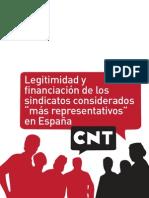 Legitimidad Financiacion Sindicatos Mas Representativos