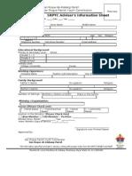 SRPYC Information Sheet - Advisers