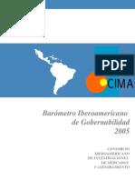 Barometro Gobernabilidad 2005