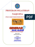 Program Pelatihan Naqs Dna 2011
