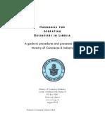 Liberia Business Handbook