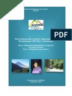 Diagnóstico del entorno turístico del departamento de Sacatepéquez, Guatemala