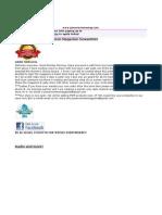 PWM Newsletter 8292011