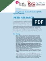 Peer Study Summary