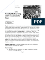 Cultural Dissent Syllabus - Fall 2011