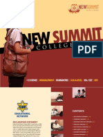 New Summit College Prospectus