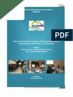 Informe de talleres municipales y taller departamental para desarrollo turístico del departamento de Sacatepéquez, Guatemala