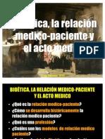 Acto Medico Relacion Medico Paciente 2011