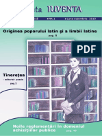 Revista IUVENTA - Nr. 1