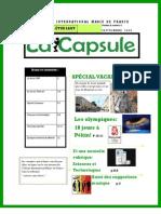LA CAPSULE - Septembre 2008