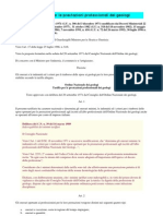 Tariffario Geologi DM18.11