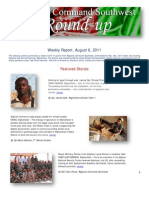 Regional Command Southwest - August 6, 2011 Roundup