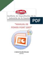 Manual Power Point_2007 CMIC V10