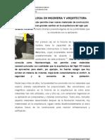 Nanotecnologia en Ingenieria y Arquitectura