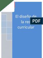 EL DISEÑO DE LA RED CURRICULAR