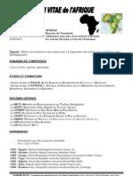 CV de l'Afrique[1]