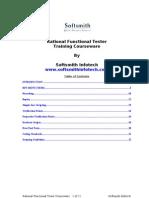 RFT Courseware