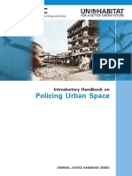 Introductory Handbook on Policing Urban Spaces