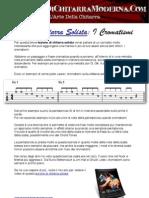 Lezione Chitarra Solista- I Cromatismi