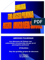 Abseso Pulmonar