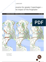Land use scenarios for greater Copenhagen - Modelling the impact of the Fingerplan