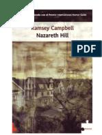 Nazareth Hill - Ramsey Campbell