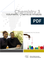 Volumetric Chemical Analysis