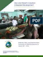 Liberia MSME Policy