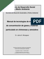 Manual de Tecnologias de Medicion de Concentracion Der Gases y Material Particulado en Chimeneas y Atmosfera