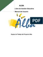 Manual Alba