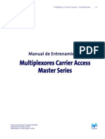 Entrenamiento Carrier Access Master Series