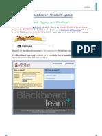 Blackboard Student Guide:2012 Edition