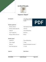 Inspectors Report on R238796