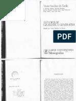 Ignacio Bosque. 1976. Sobre la interpretación causativa de los verbos deadjetivales