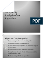 Complexity Analysis 4,5,6