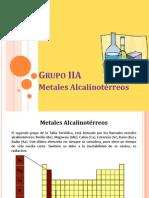 Grupo IIA alcalinoterreos