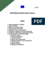 Habilidades sociales - Material didáctico