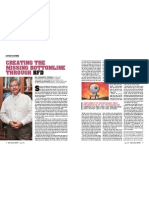 Creating the Missing Bottom Line Through RFD- Prajapati Trivedi