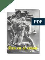Devi, Savitri - Oro en El Crisol (ES, 2001, 401 S., Text)