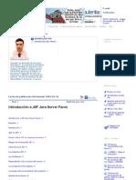 Introducción a JSF Java