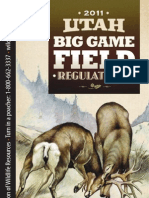 2011 Utah Big Game Field Regs